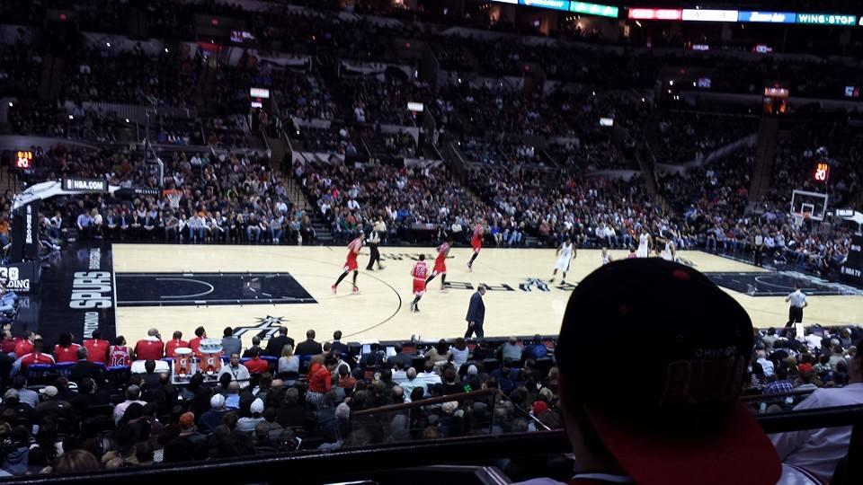 At Amp T Center Section 109 San Antonio Spurs