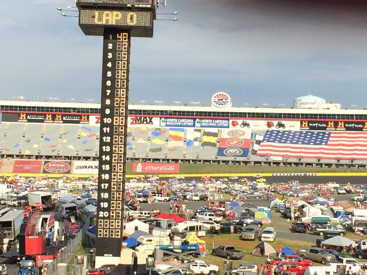 Charlotte Motor Speedway Section Ford F Row 31 Nascar