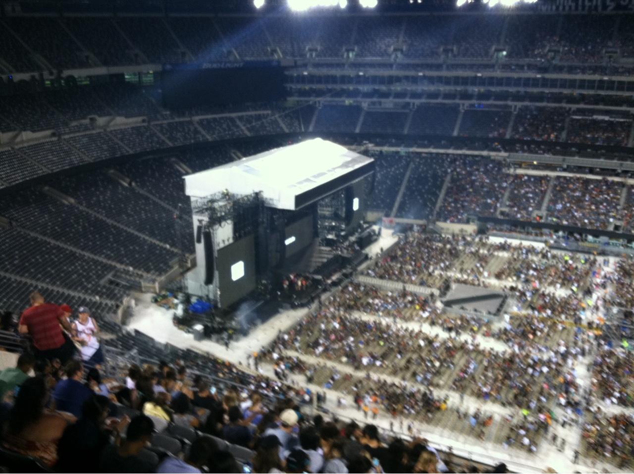 MetLife Stadium Section 338 Concert Seating ...