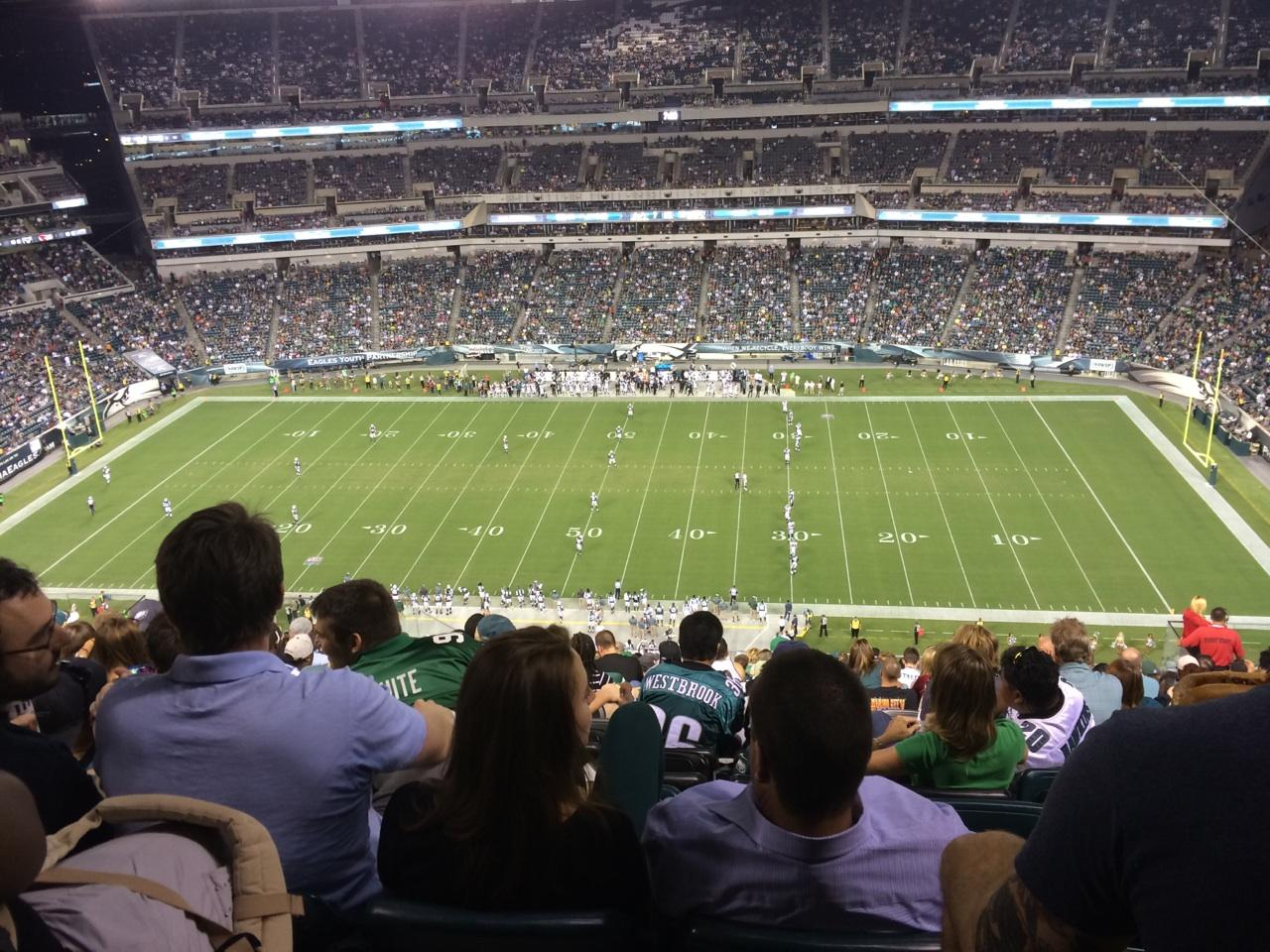 Philadelphia Eagles Lincoln Financial Field Section 226