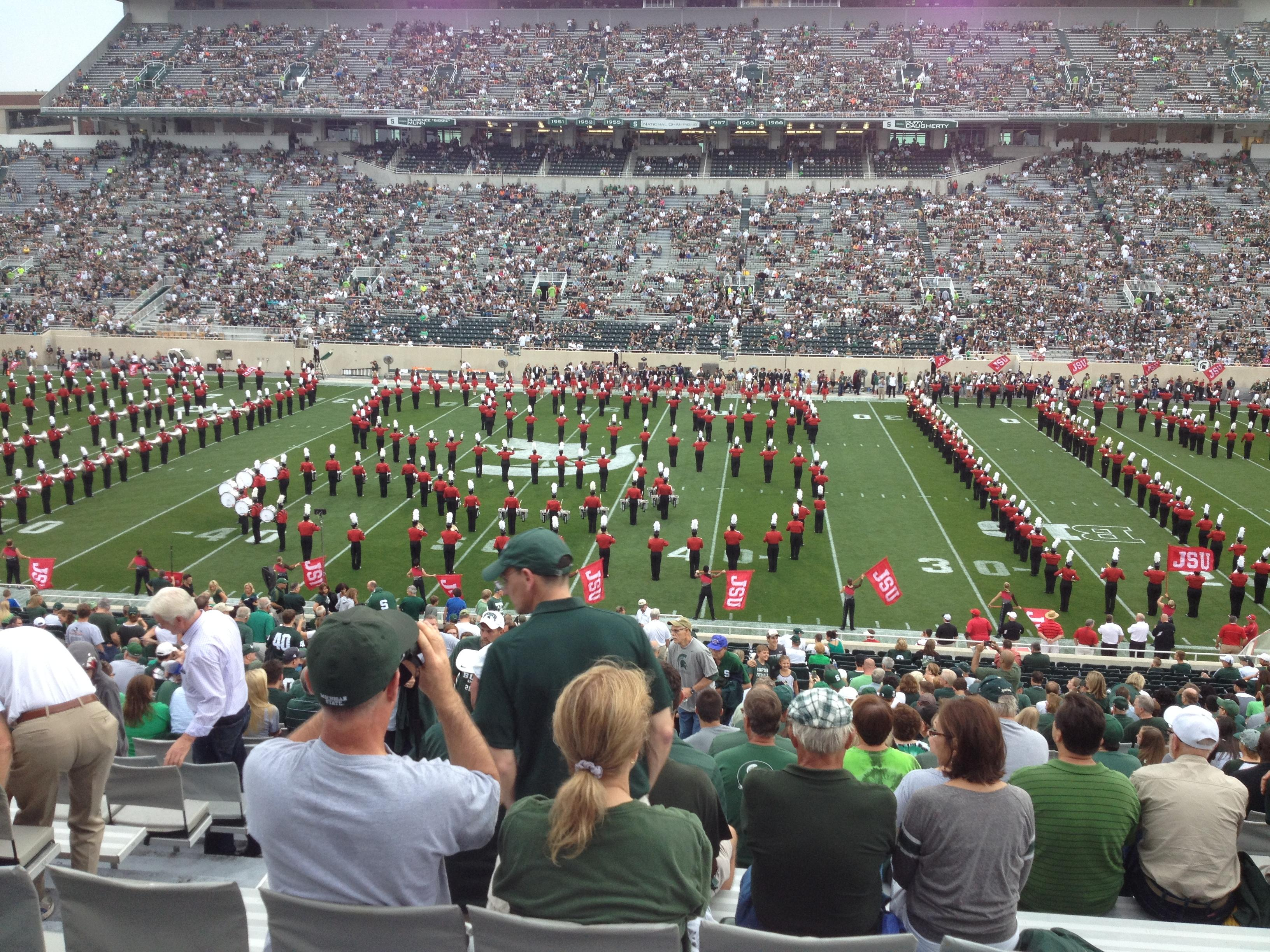 Spartan Stadium Section 8 Row 44 Seat 13