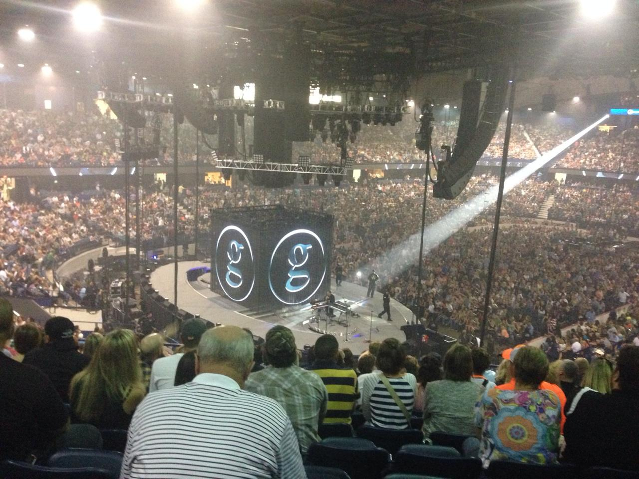 Concert Seat View for Allstate Arena Section 205, Row L, Seat 35