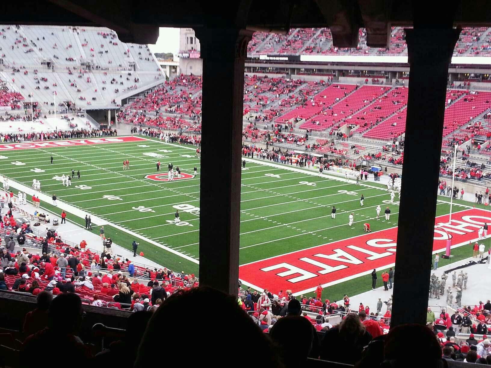 Ohio Stadium Section 8b Rateyourseats Com
