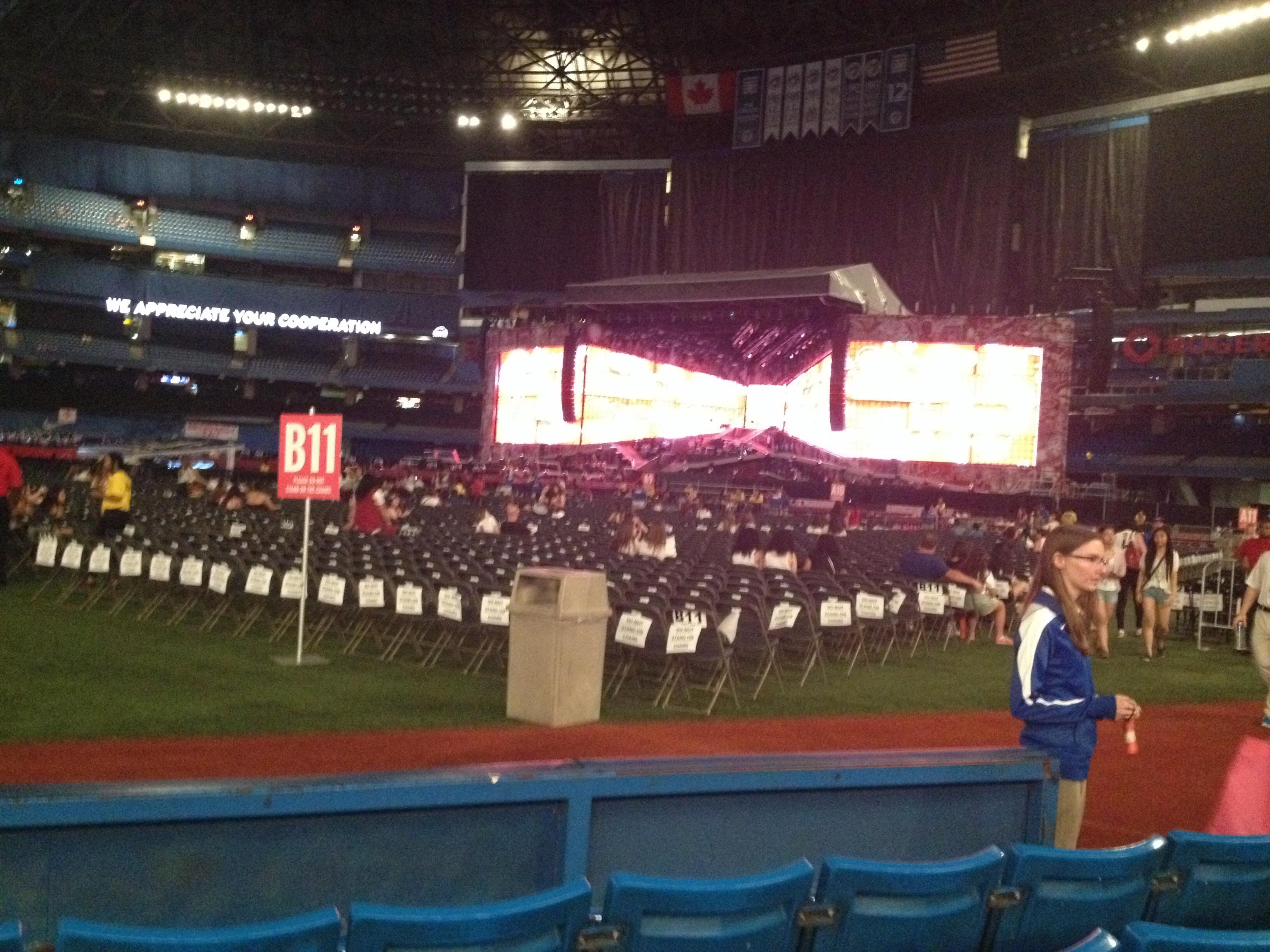 Rogers Centre Section 114 Concert Seating Rateyourseats Com