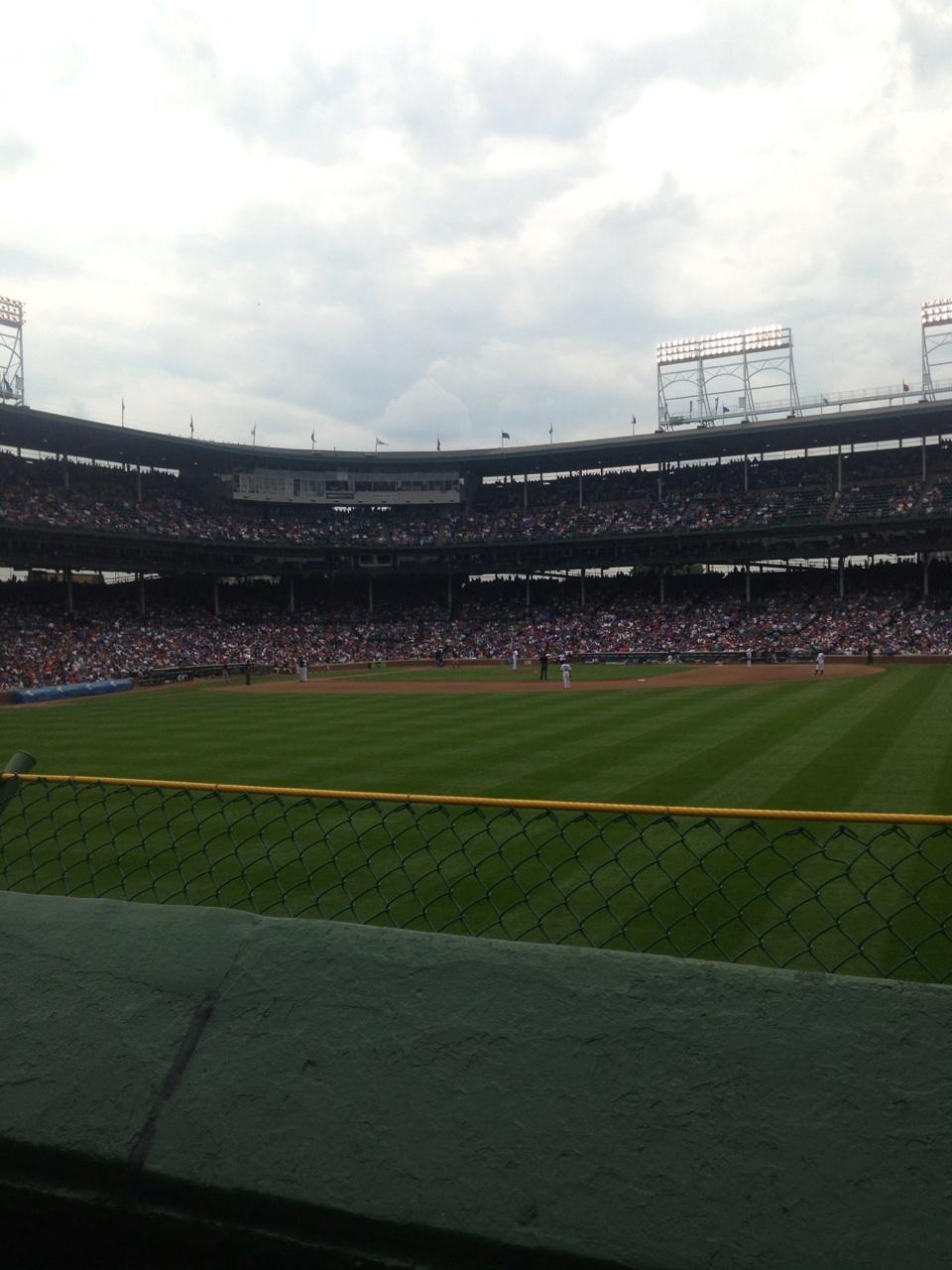 Wrigley Field Section 314 - Chicago Cubs - RateYourSeats.com