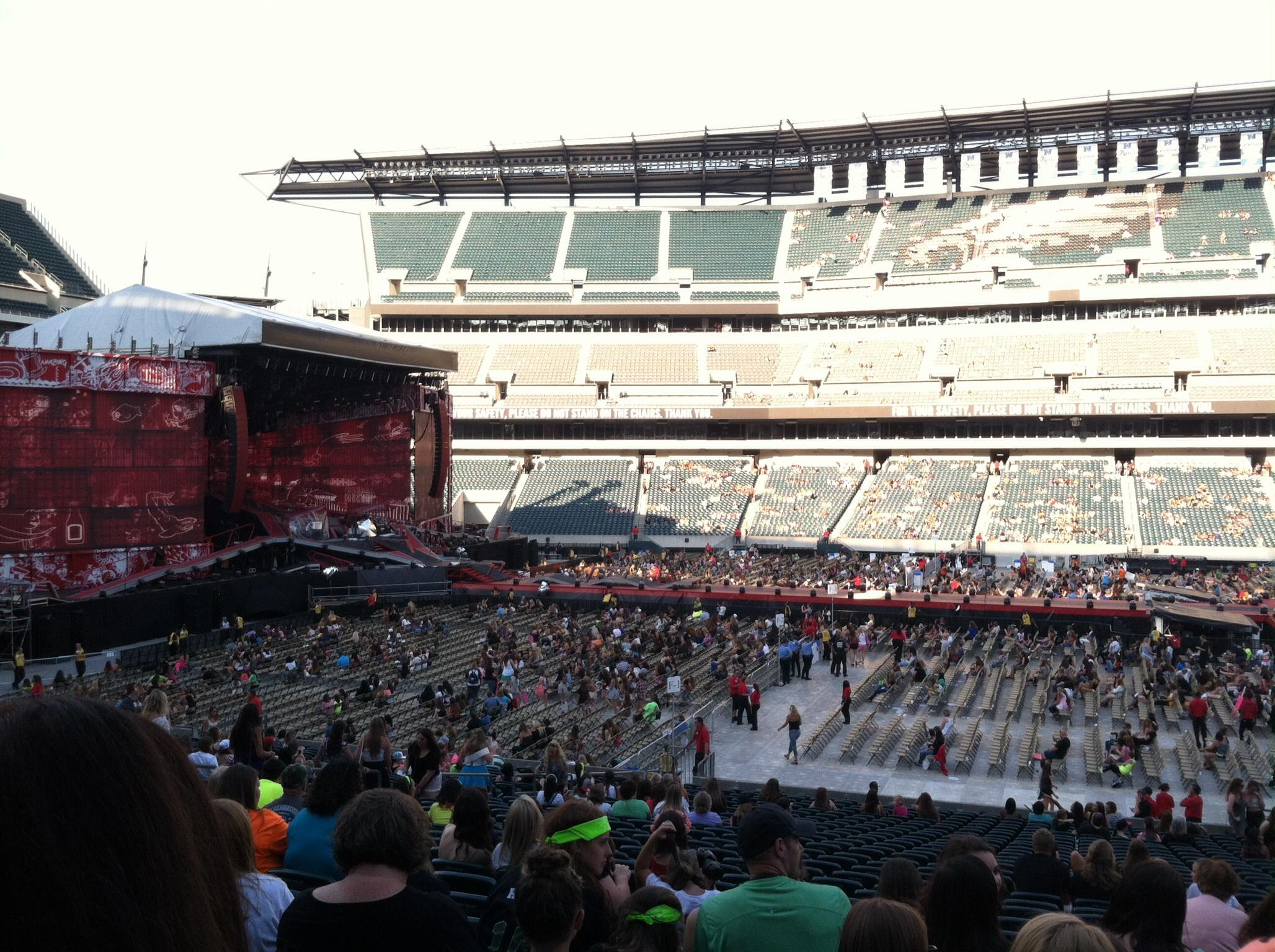 Lincoln Financial Field Section 101 Concert Seating