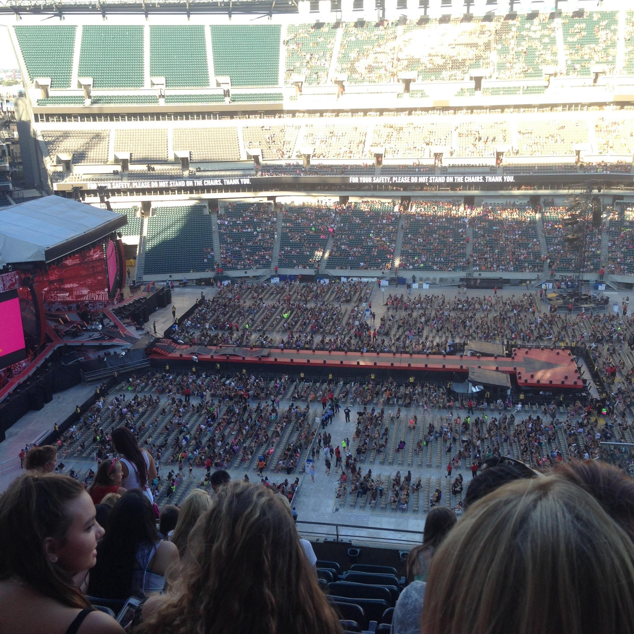 Lincoln Financial Field Section 201 Concert Seating