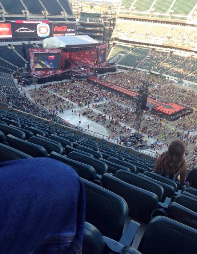Lincoln Financial Field Section 206 Concert Seating
