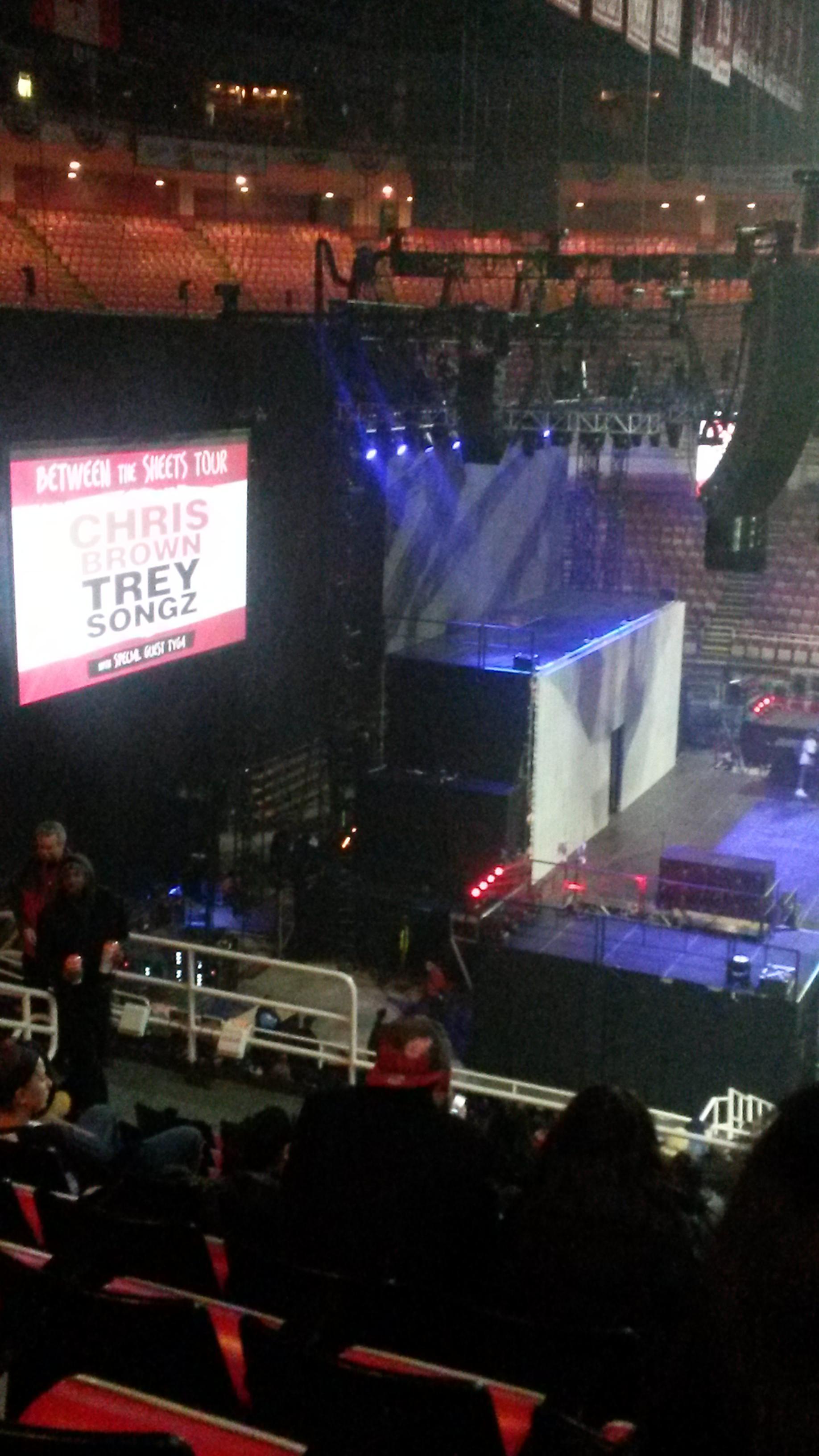 joe louis arena Section 209 Row 11 Seat 8