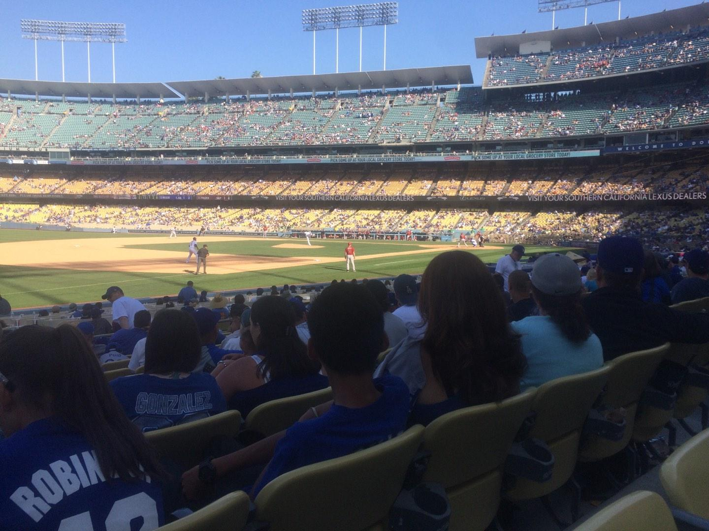Dodger Stadium Section 35FD Row N Seat 8
