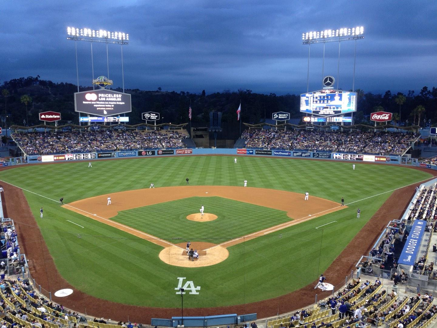 Dodger Stadium Section 1RS Row 1 Seat 6