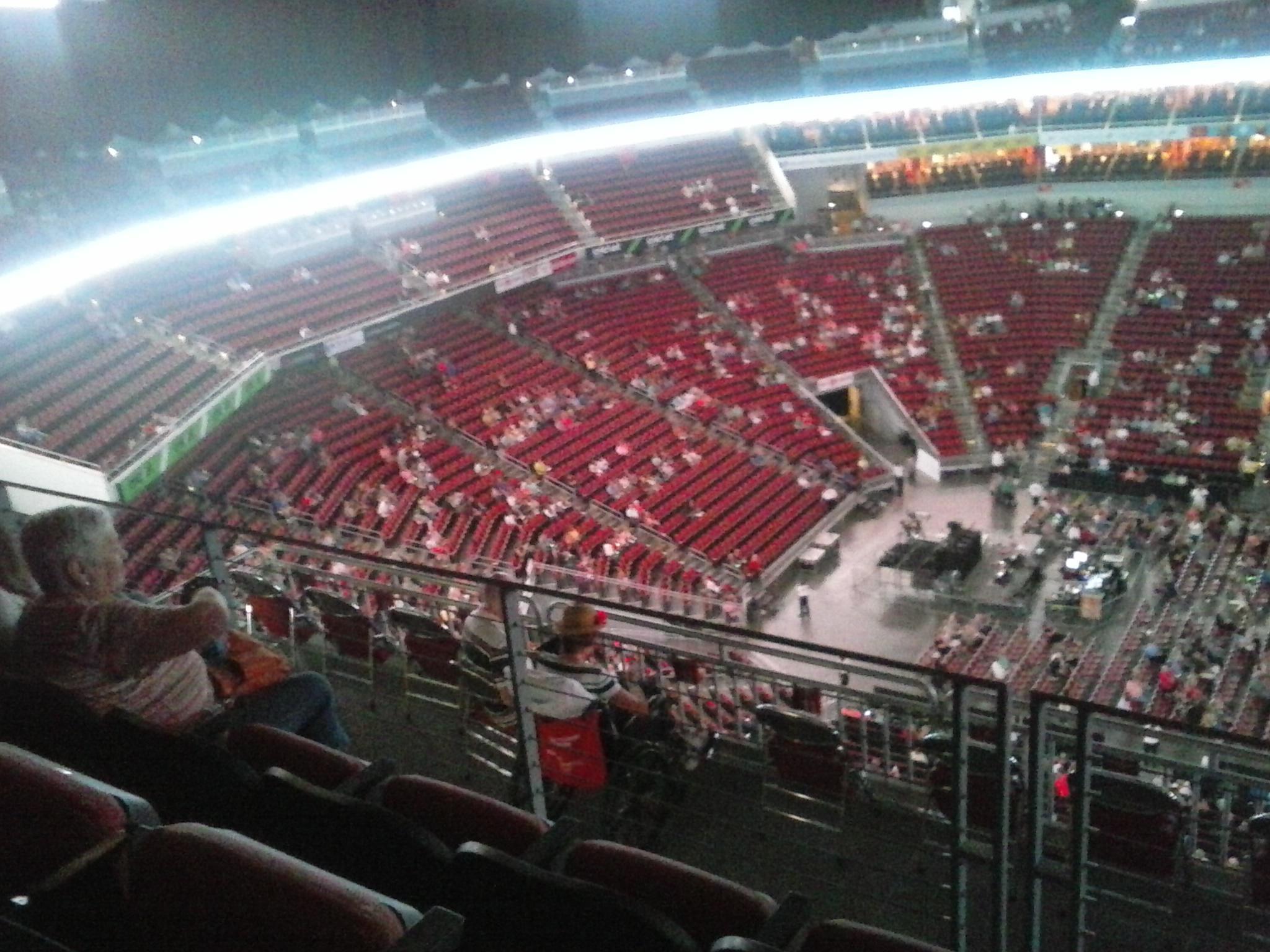 KFC Yum! Center Section 308 Row J Seat 11