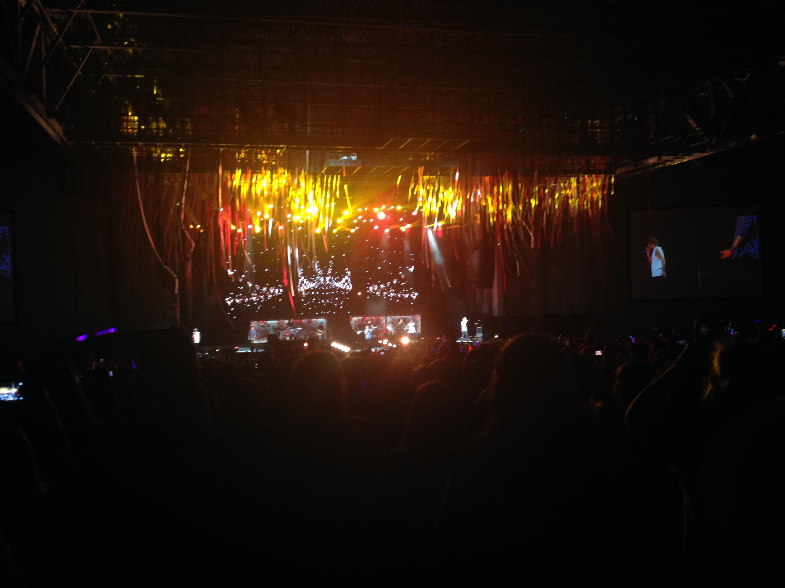 PNC Music Pavilion Section 7 Row X Seat 16