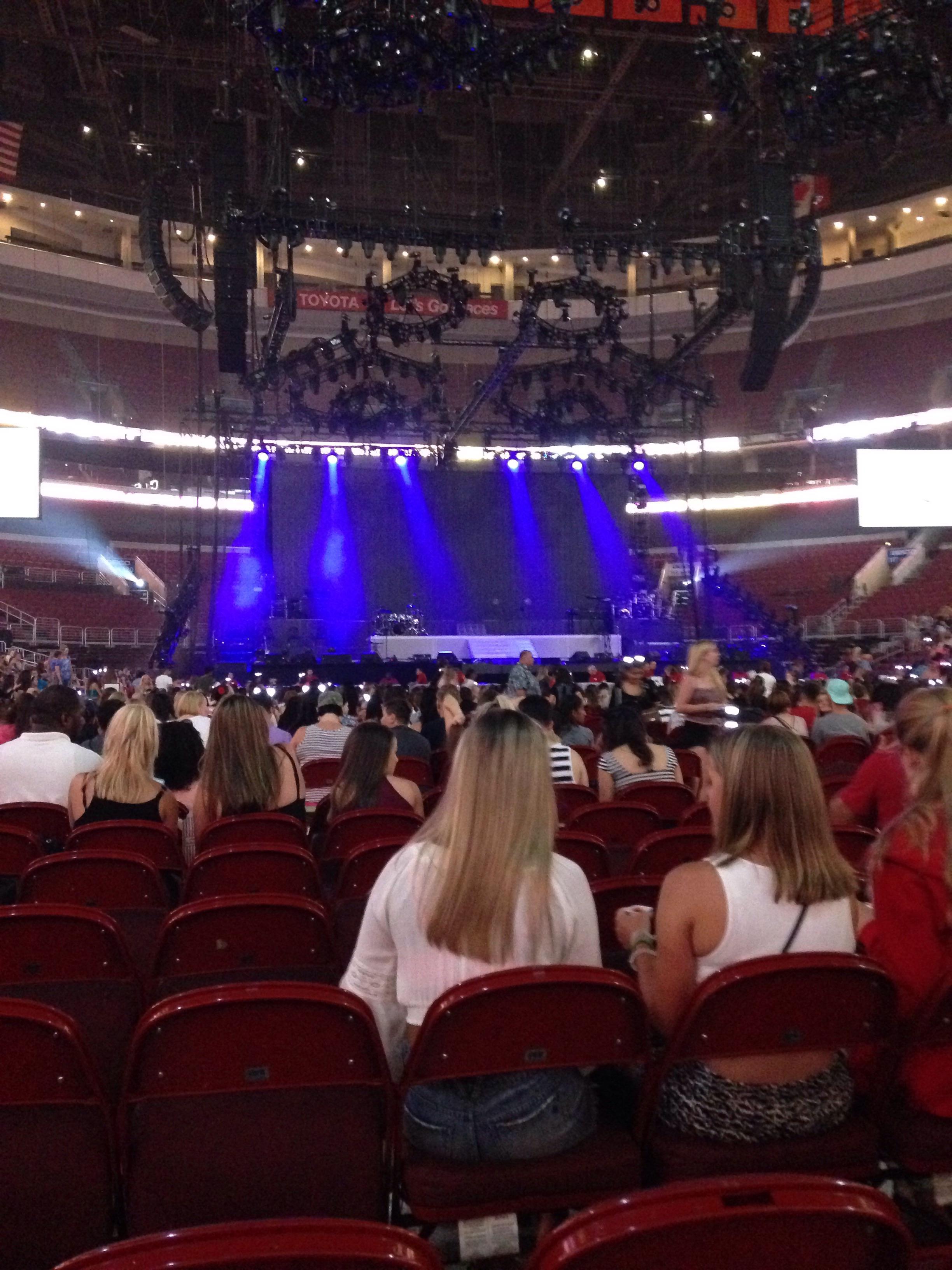 Wells Fargo Center Floor 7 Concert Seating Rateyourseats Com