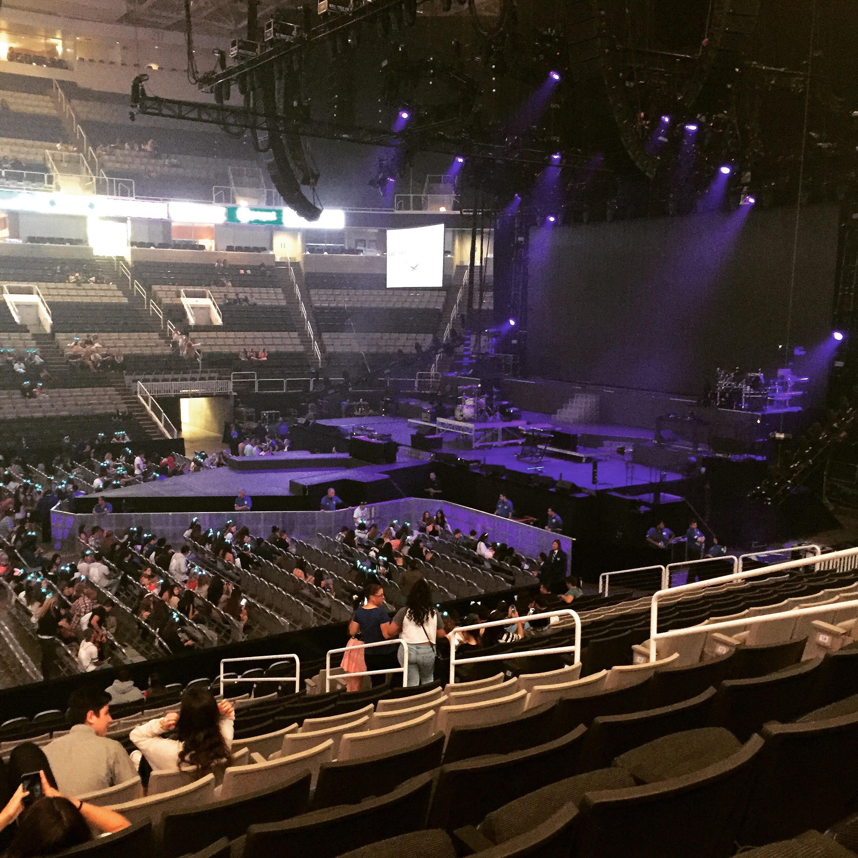 Sap Center At San Jose Section 101 Row 19 Seat 9 Ariana