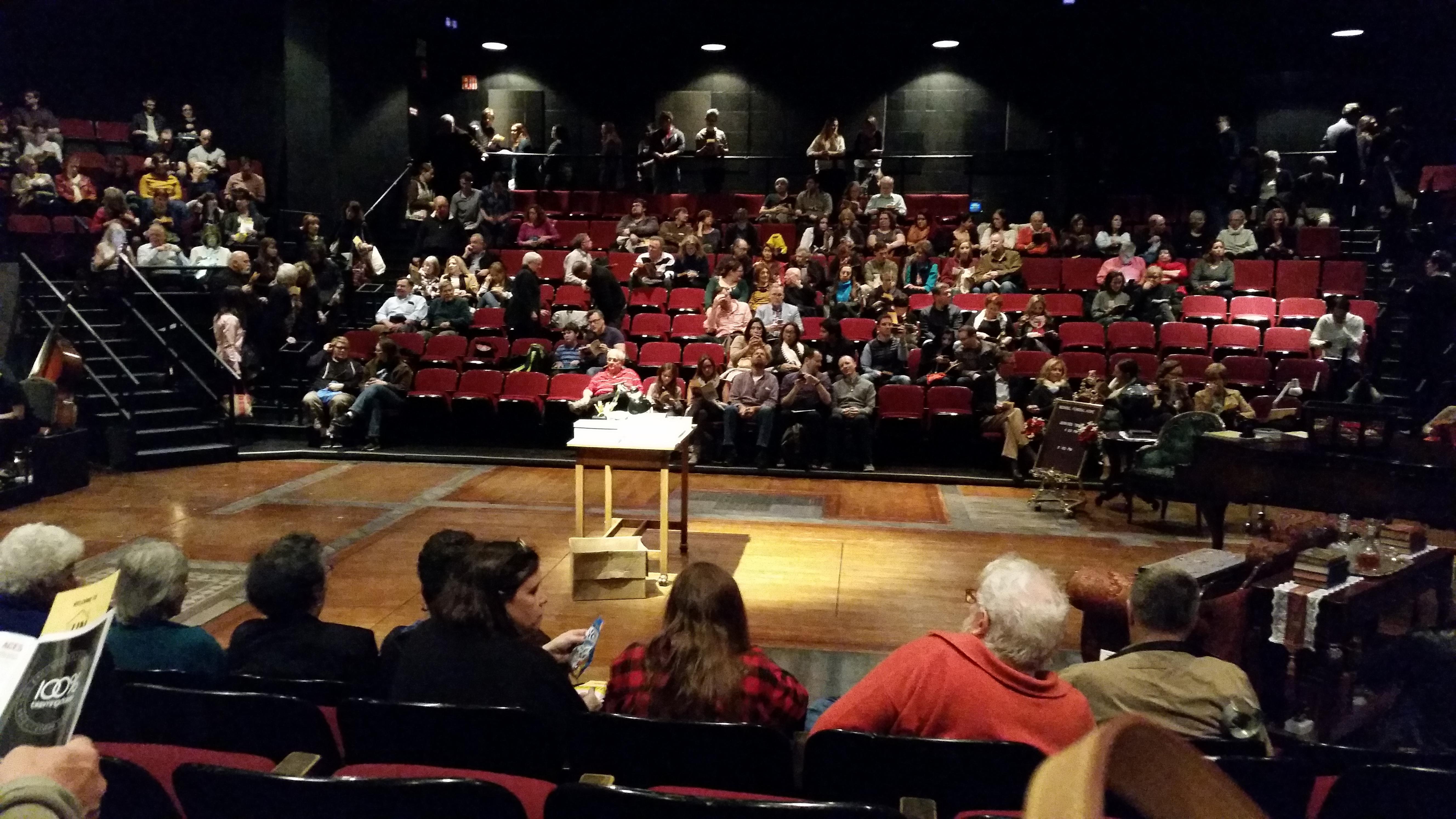 Circle in the Square Theatre Section Orchestra 200 (Odd) Row E Seat 223