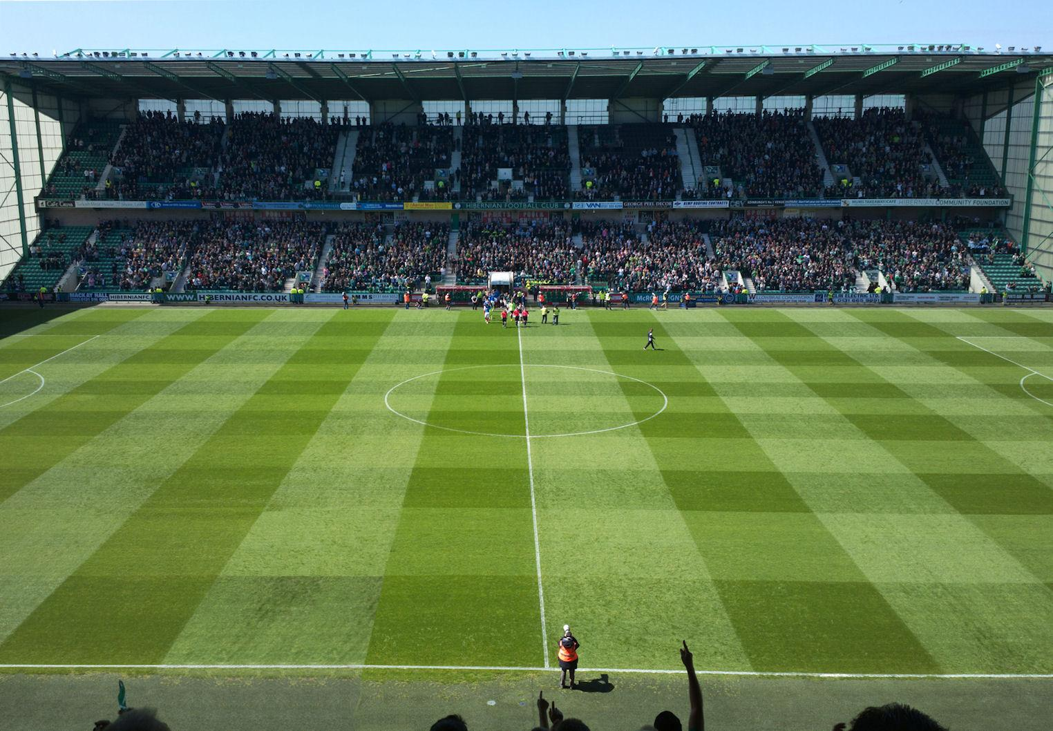 Easter Road Stadium Section East 41 Row CC Seat 117