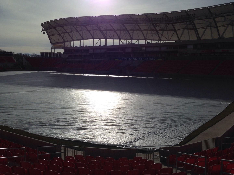 Rio Tinto Stadium Section 33 Row p Seat 10