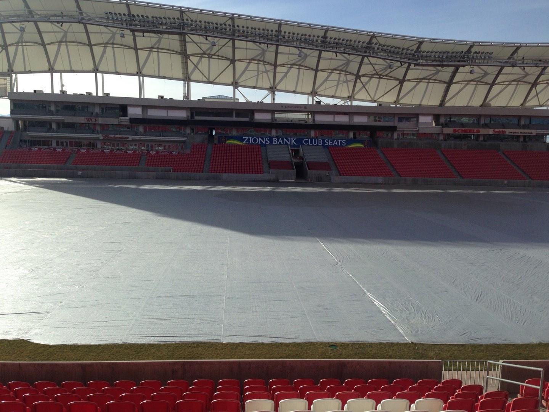 Rio Tinto Stadium Section 2 Row p Seat 15