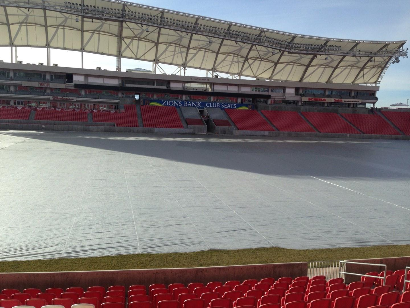 Rio Tinto Stadium Section 3 Row p Seat 15