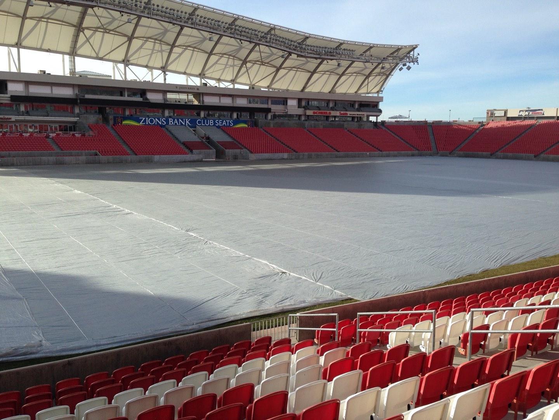 Rio Tinto Stadium Section 5 Row p Seat 14