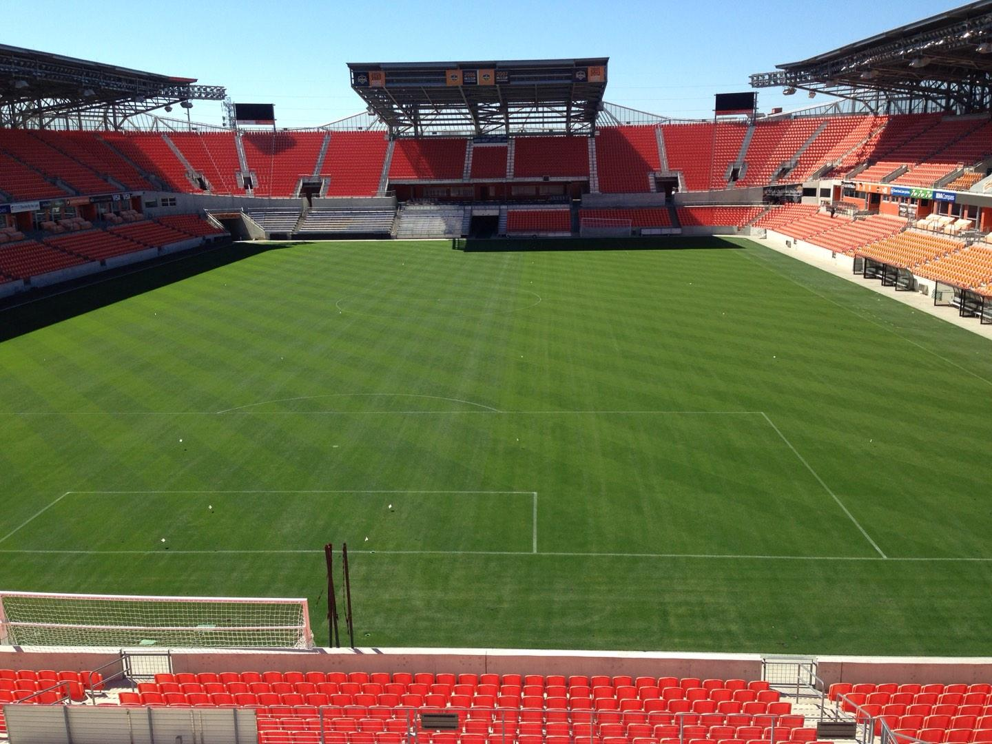 BBVA Compass Stadium Section 215 Row D Seat 14