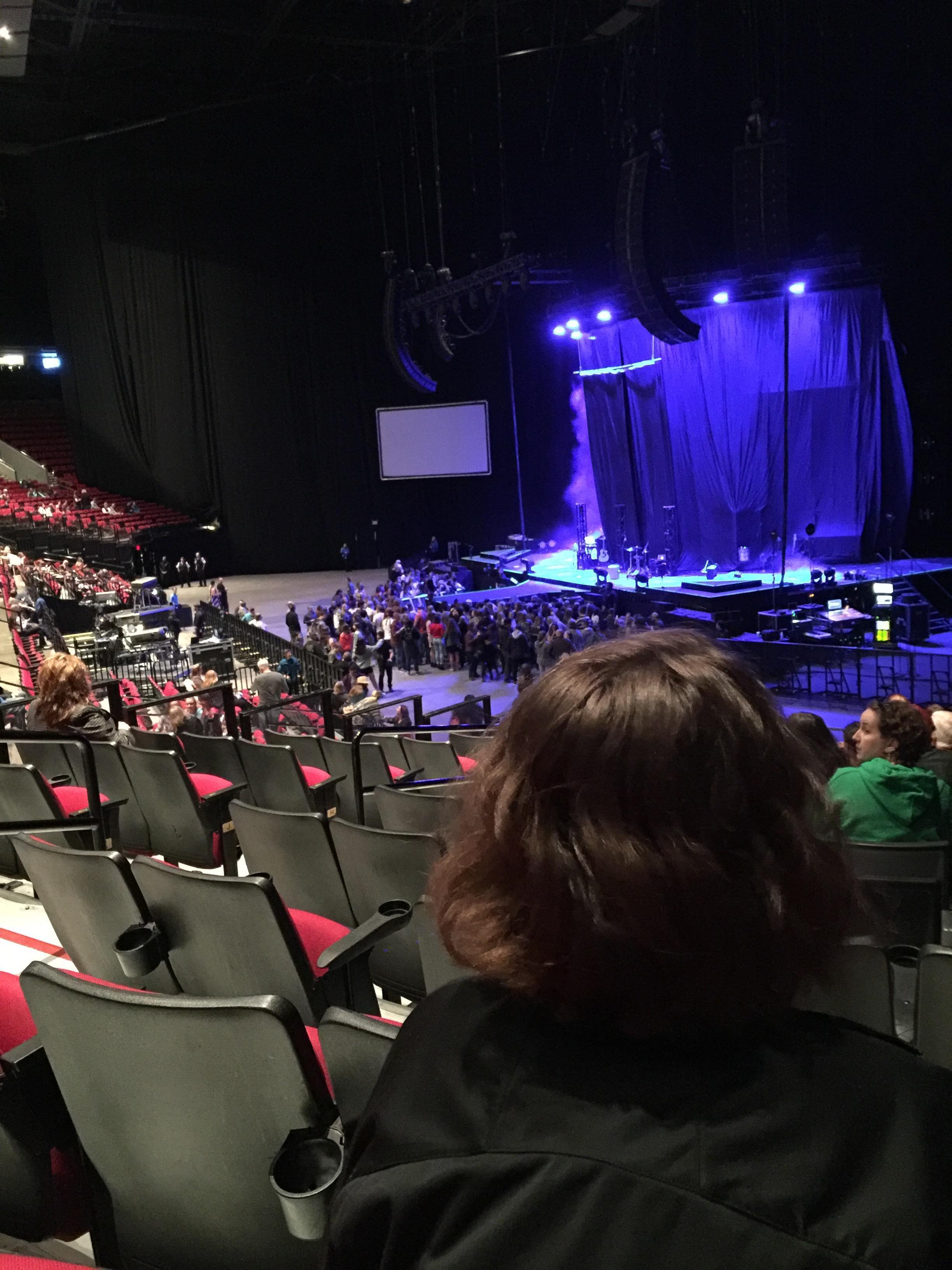 Moda Center Section 119 Row O Seat 22