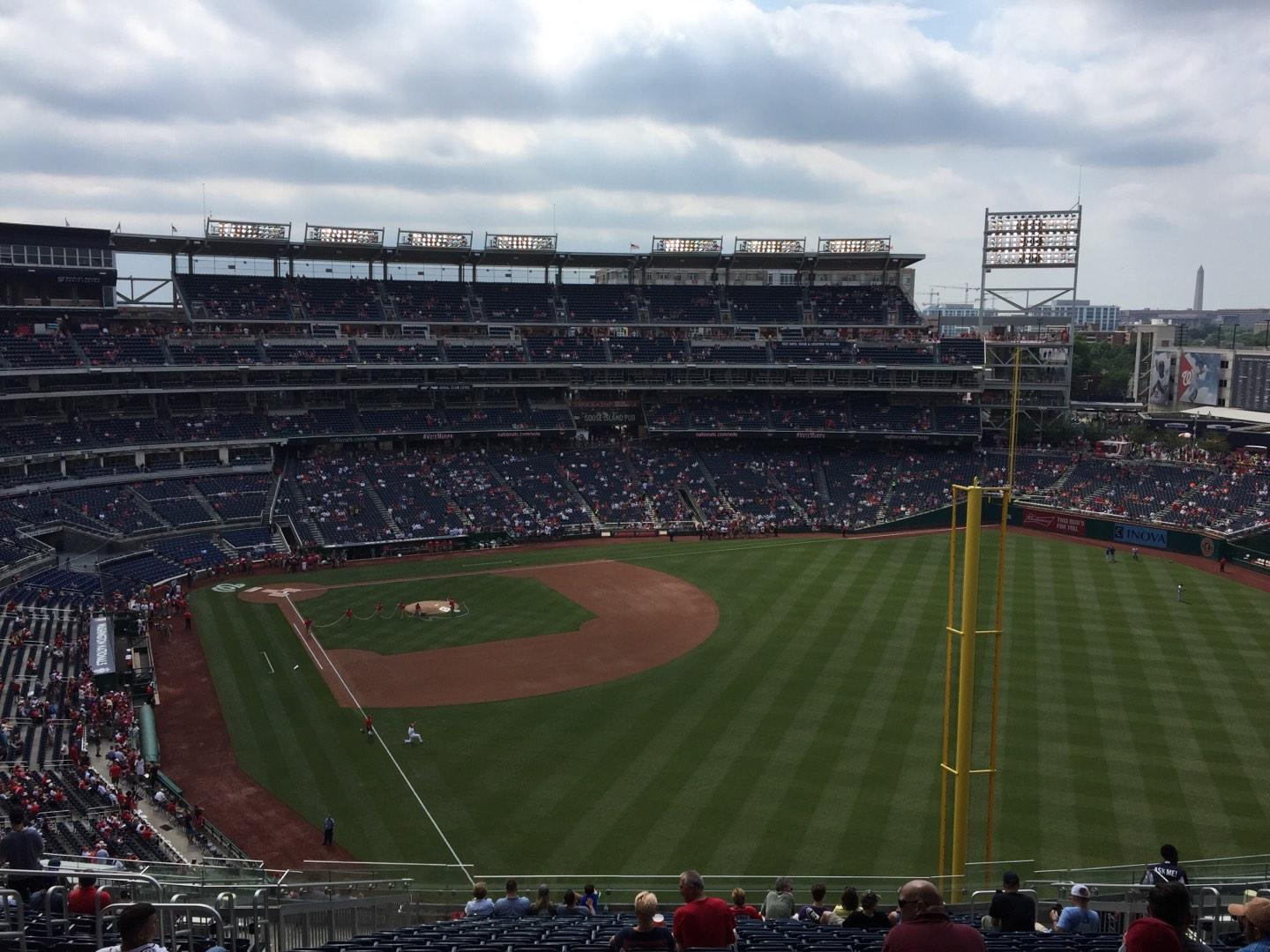 Nationals Park Section 232 Row X Seat 12
