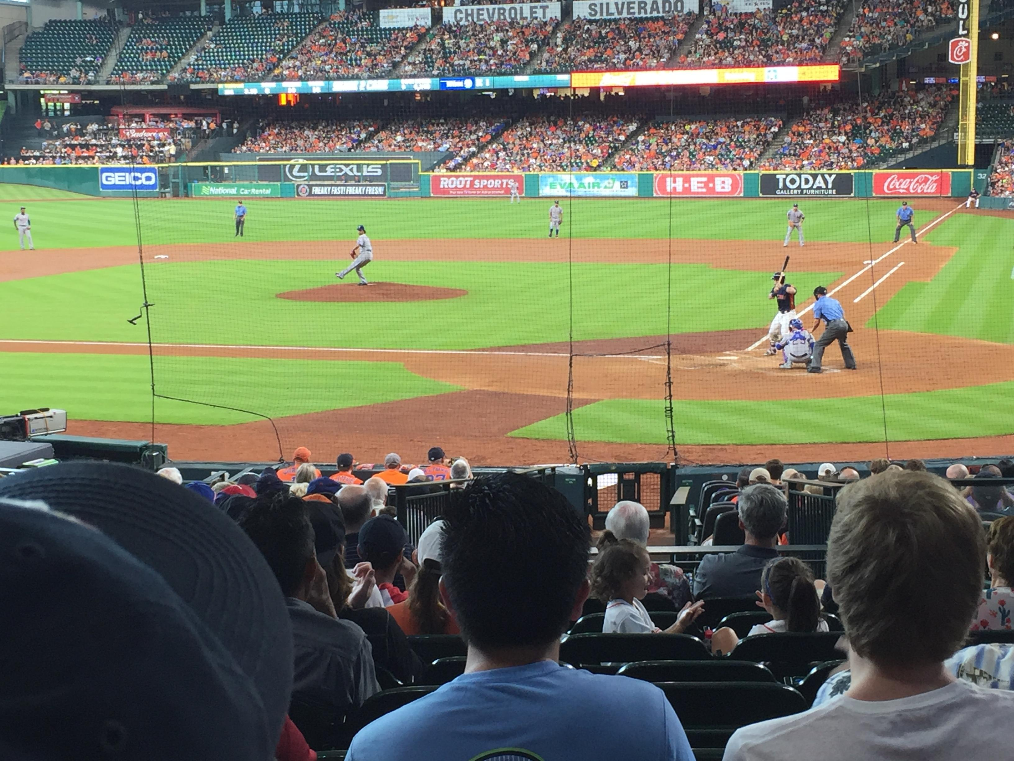 Minute Maid Park Section 116 Row 23 Seat 25