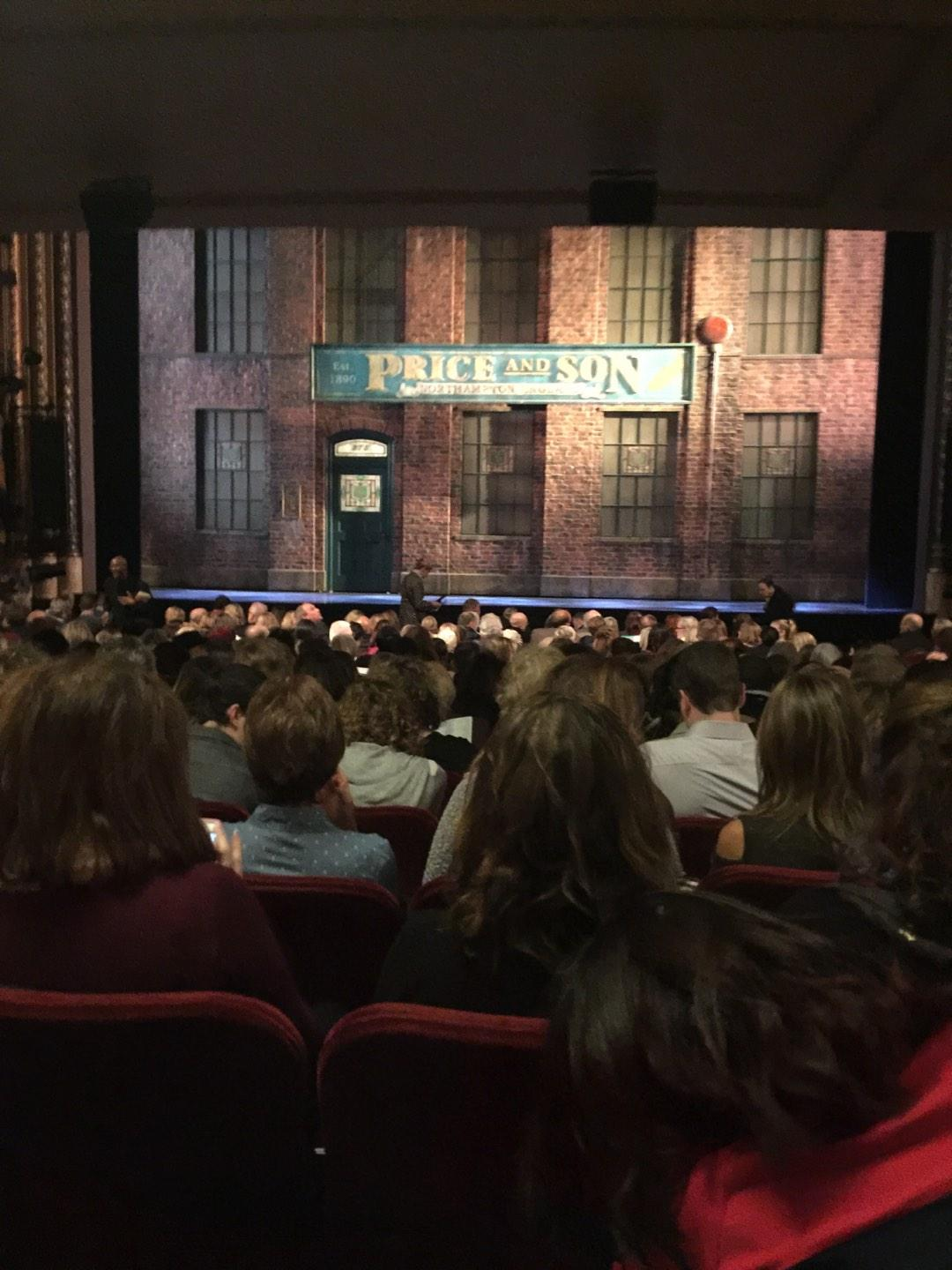 Al Hirschfeld Theatre Section Orchestra Row S Seat 04