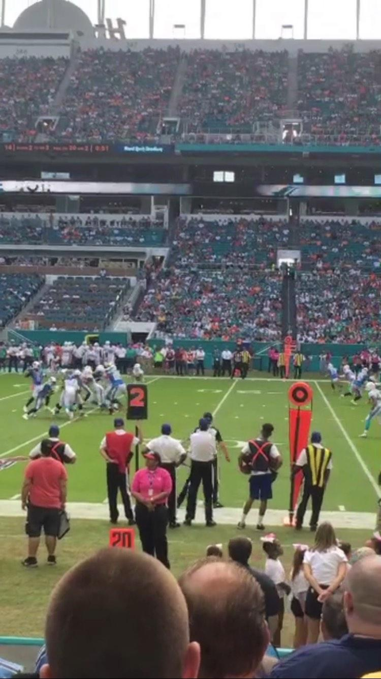 Hard Rock Stadium Section 116 Row 8 Seat 7