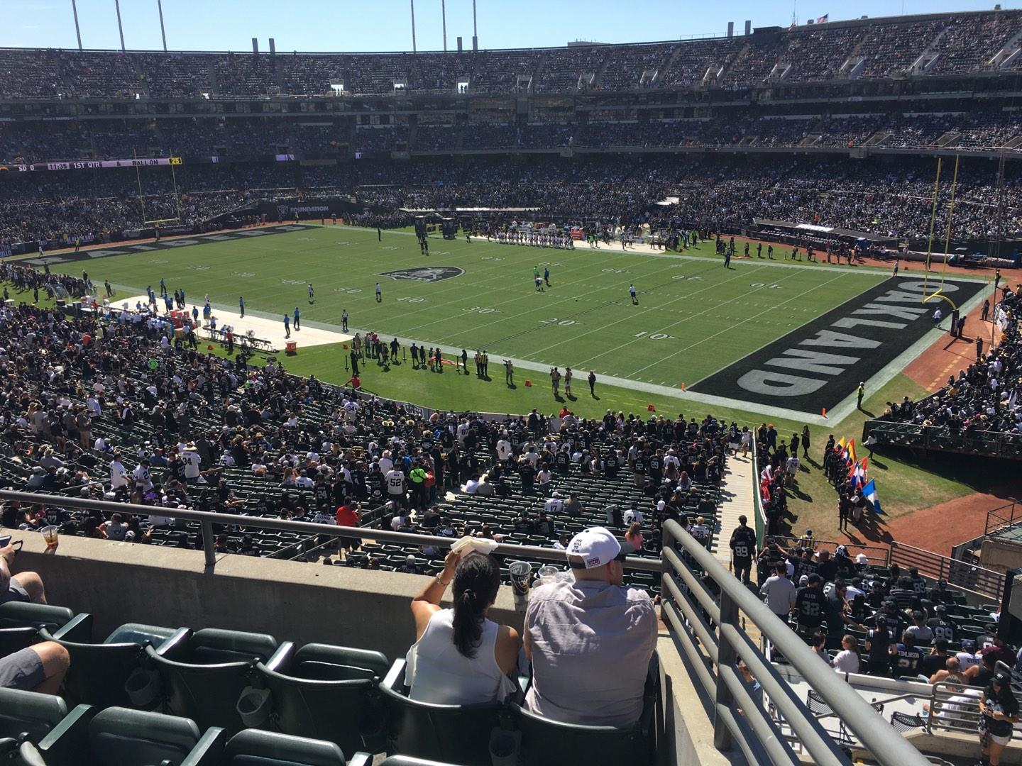 Oakland Alameda Coliseum Section 235 Row 5 Seat 1