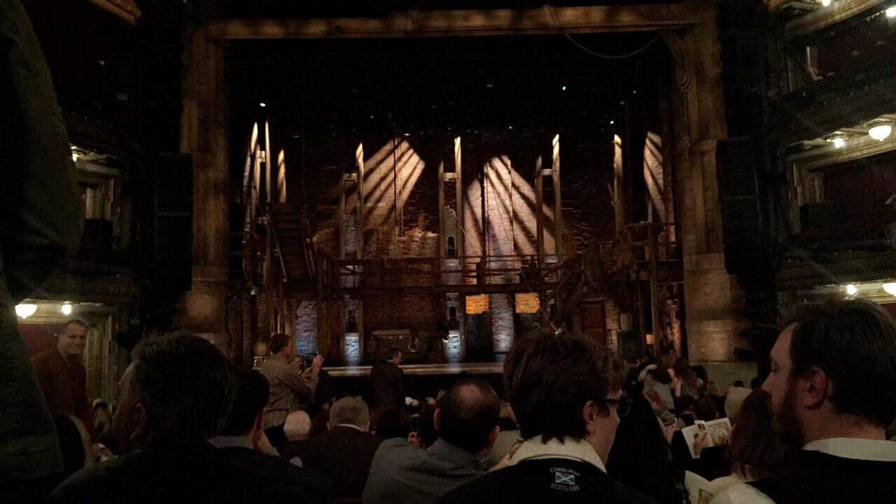 CIBC Theatre Section Orchestra C Row U Seat 107