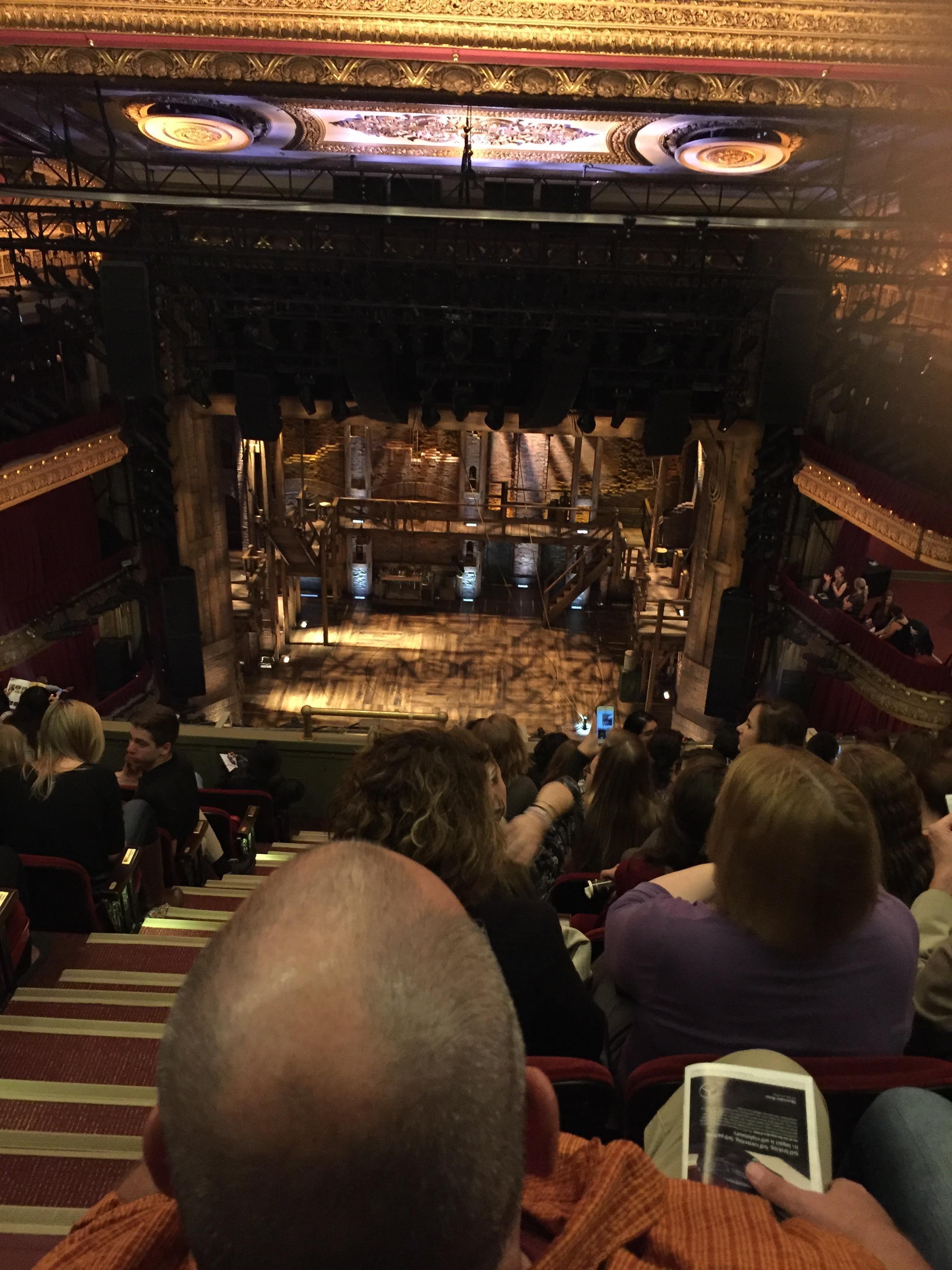CIBC Theatre Section Balcony RC Row H Seat 402