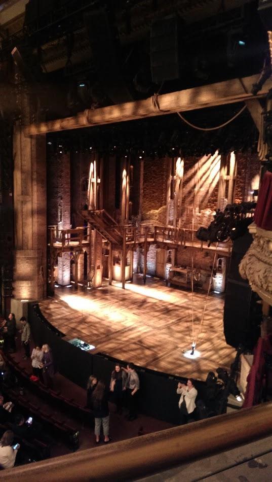 CIBC Theatre Section Mezzanine R Row A Seat 16