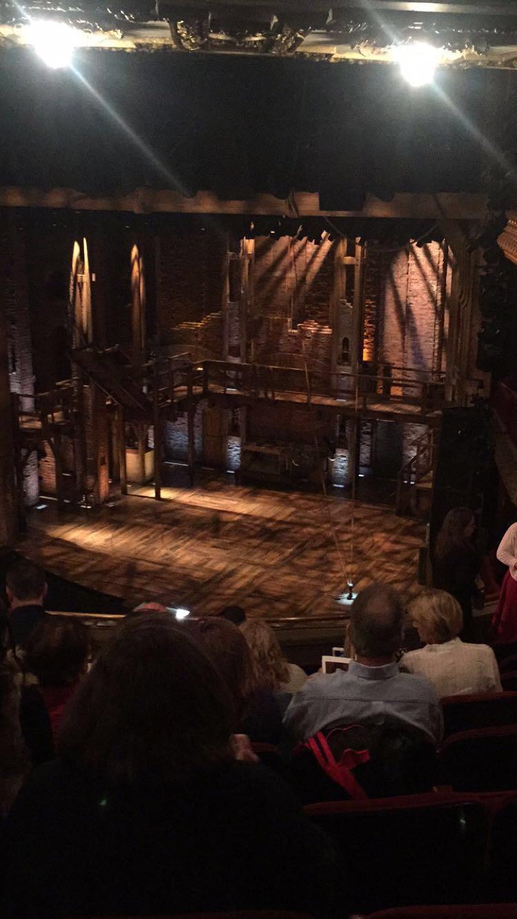 CIBC Theatre Section Mezzanine R Row J Seat 14
