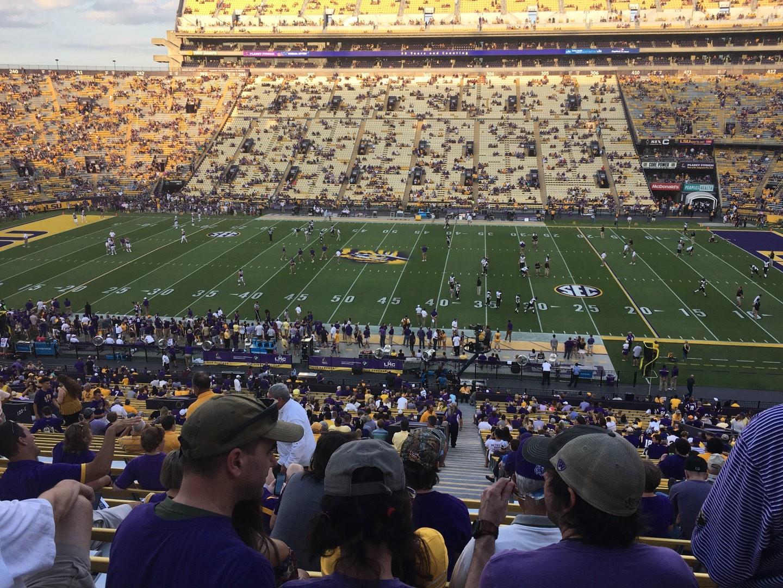 Tiger Stadium Section 102 Row 53 Seat 14