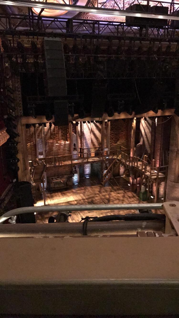 CIBC Theatre Section Balcony L Row A Seat 1