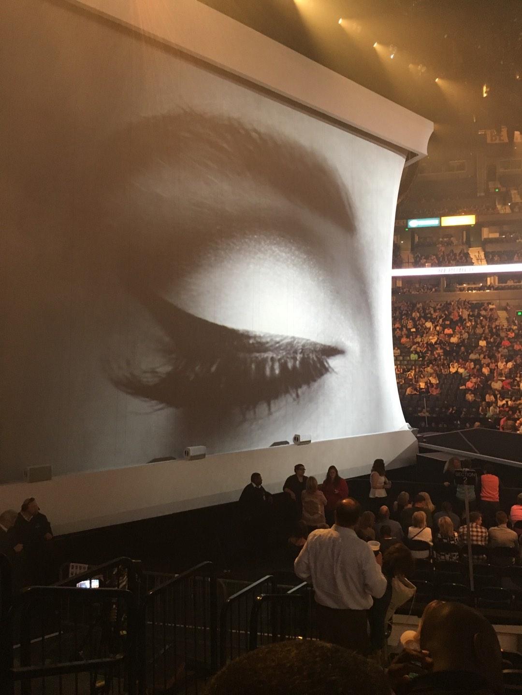 Bridgestone Arena Section 114 Row JJ Seat 19