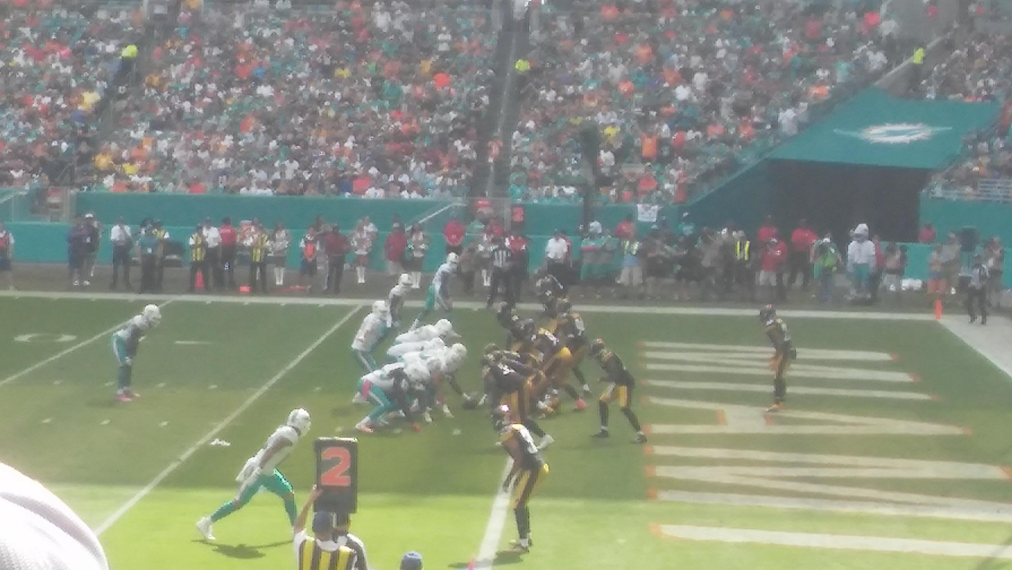 Hard Rock Stadium Section 114 Row 16 Seat 25