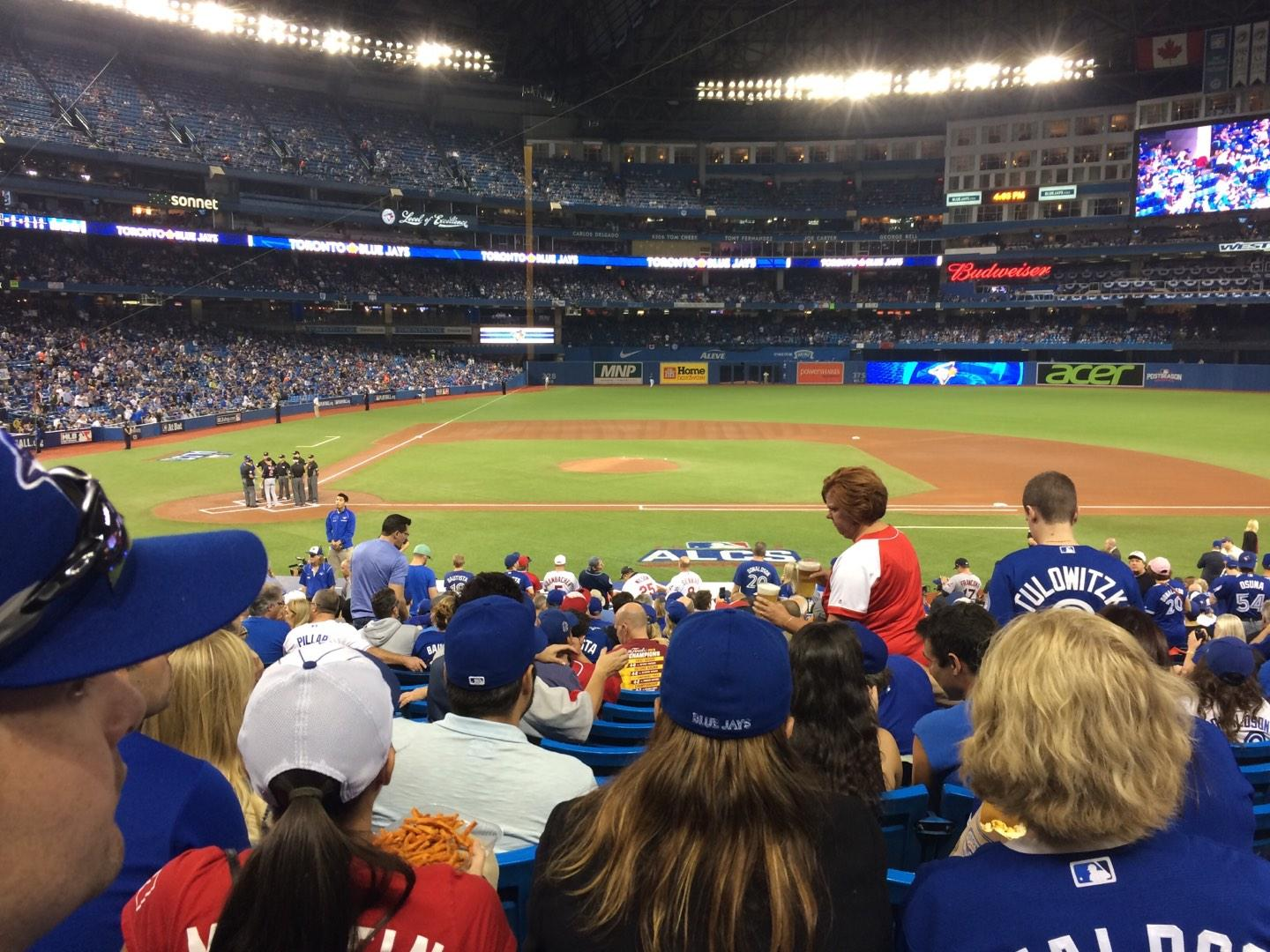 Rogers Centre Section 117L Row 29 Seat 108