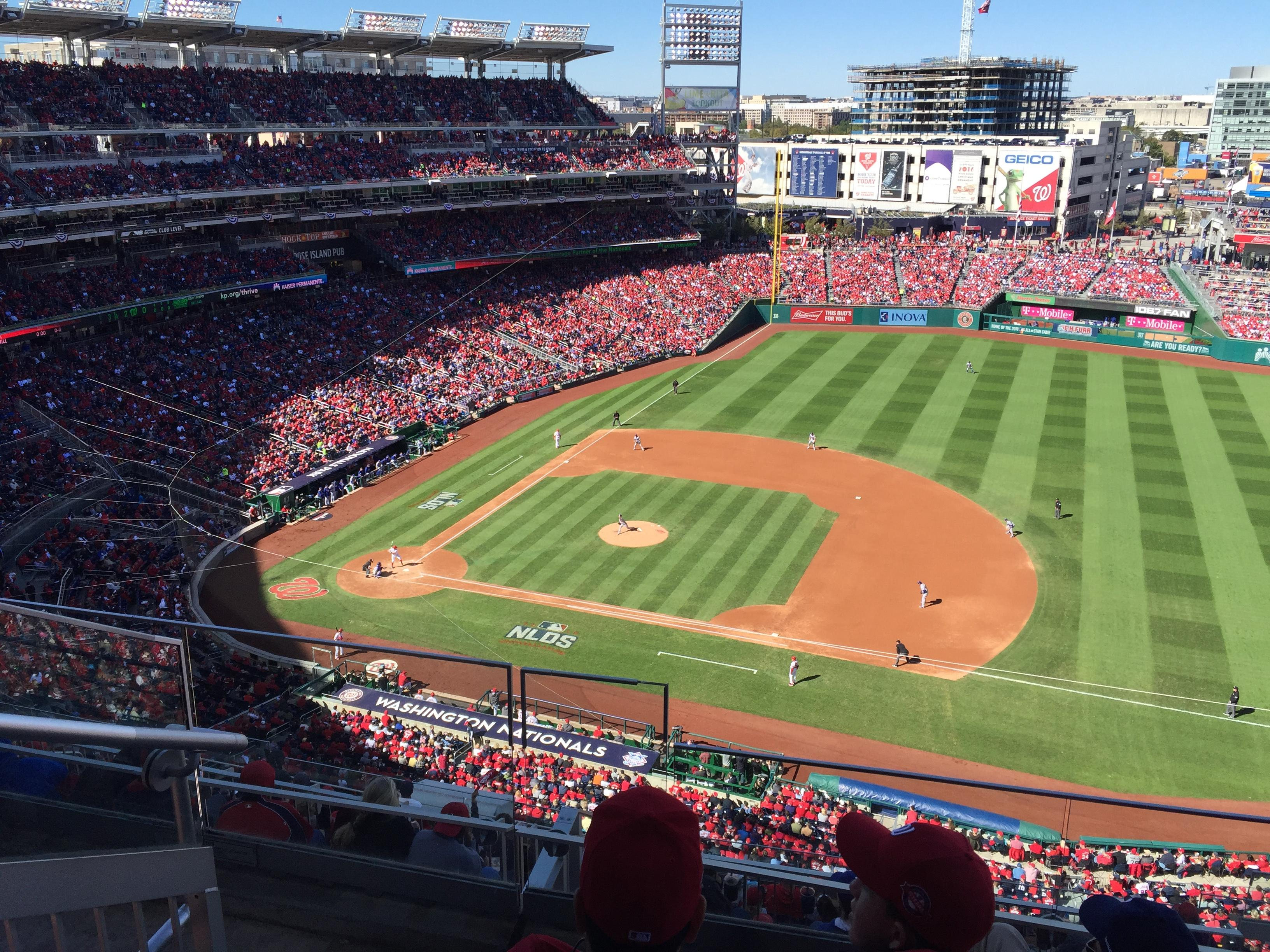 Nationals Park Section 420 Row C