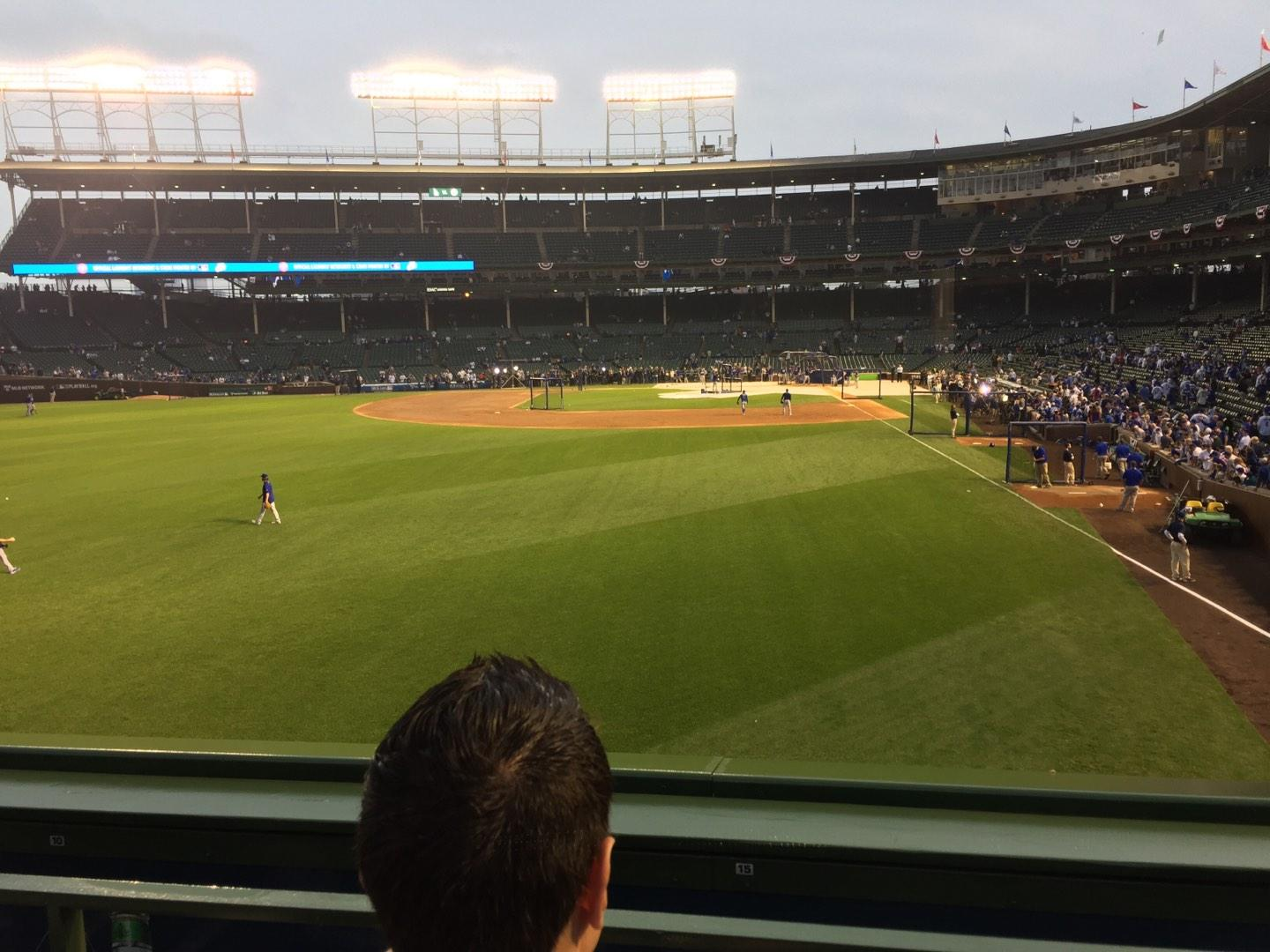 Wrigley Field Section 502 Row 9 Seat 7