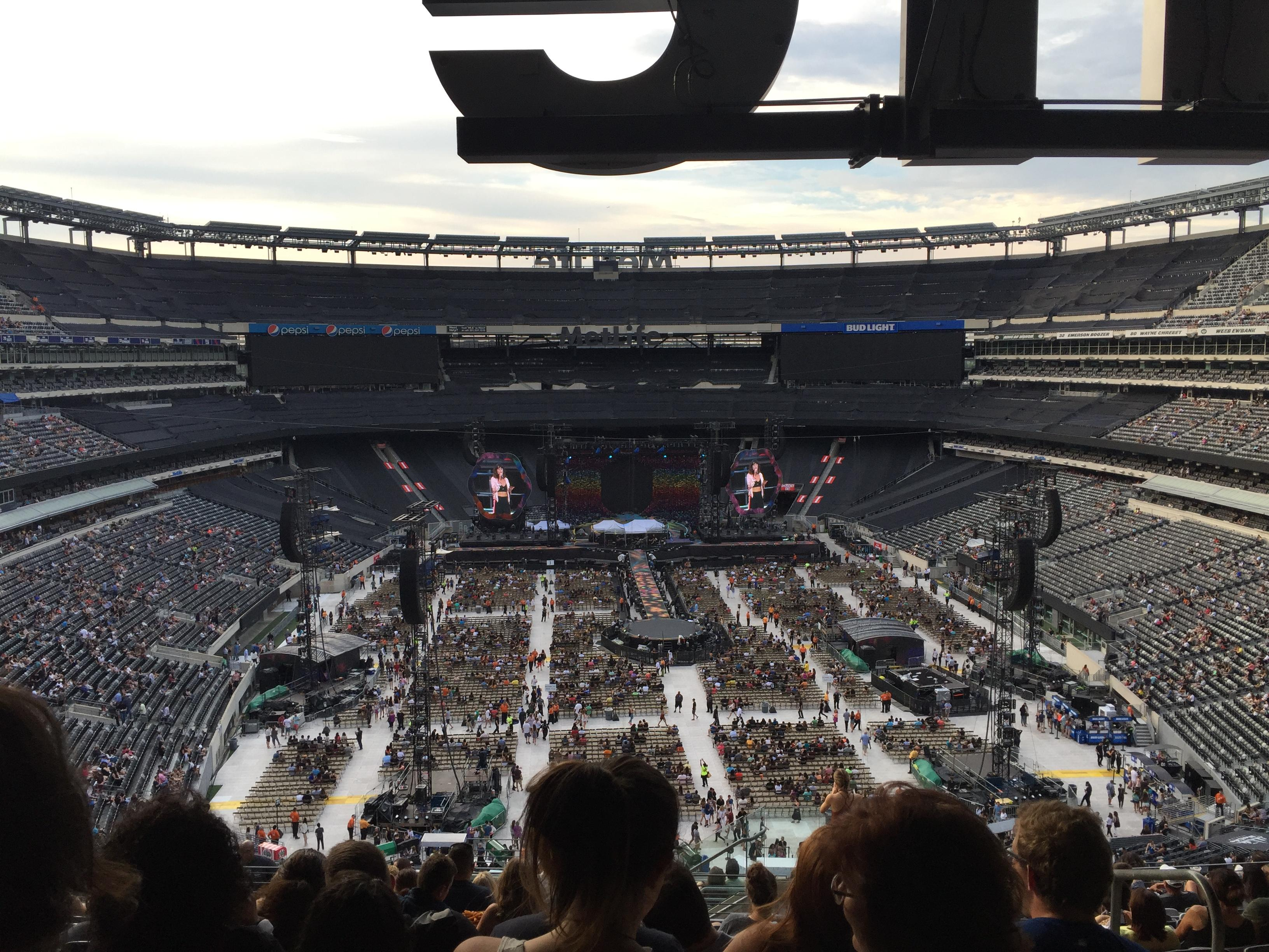 MetLife Stadium Section 227B Row 15 Seat 2