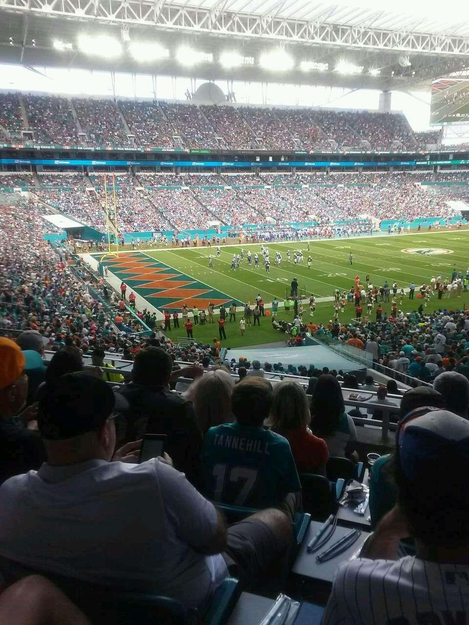 Hard Rock Stadium Section 252 Row 6 Seat 16