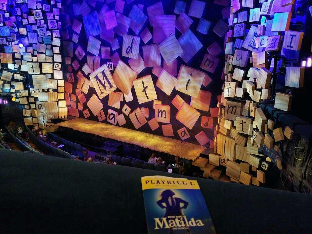 Shubert Theatre Section Mezzanine R Row A Seat 14 and 16