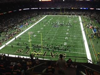 Mercedes-Benz Superdome Section 625 Row 8 Seat 17