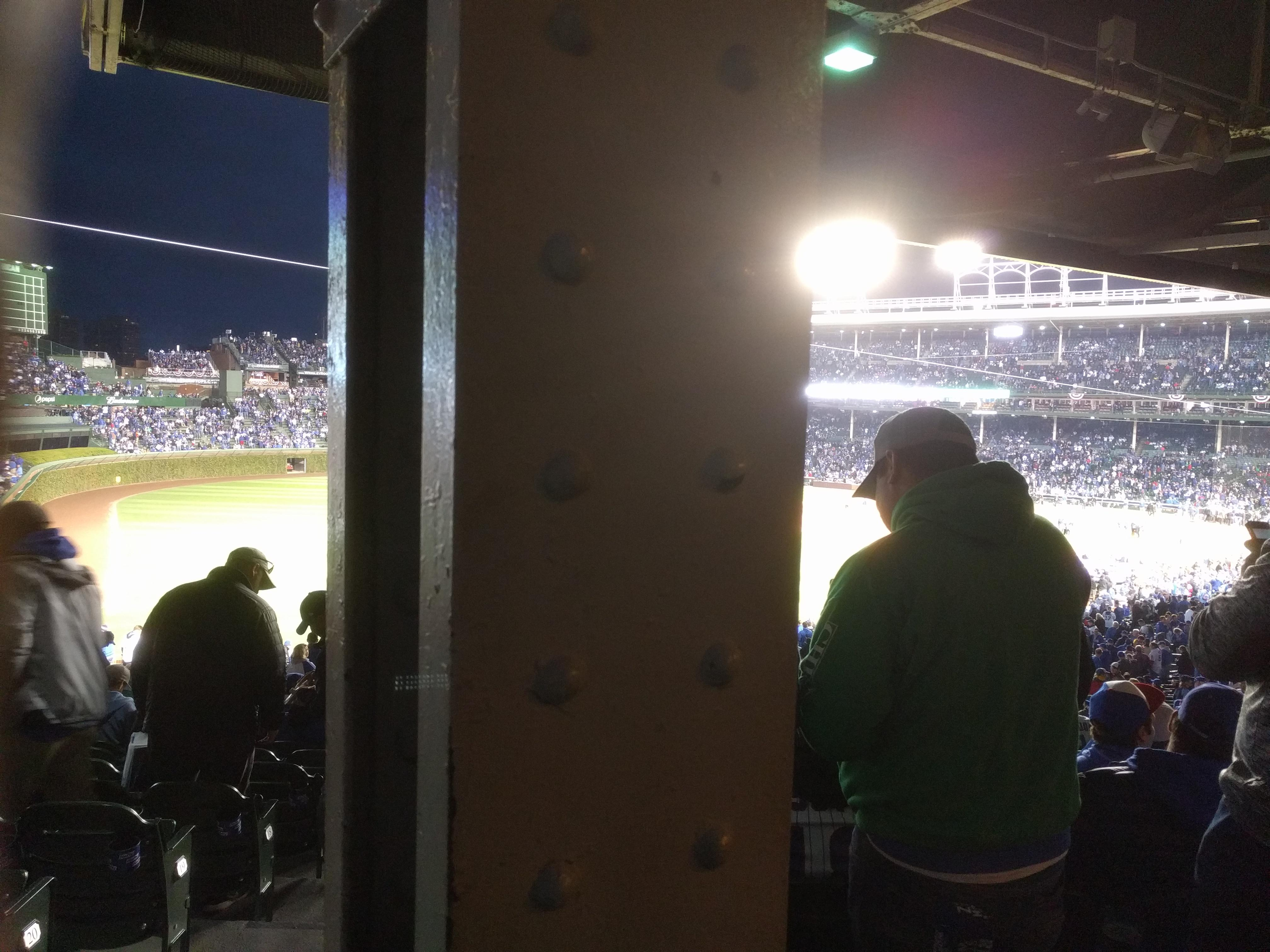 Wrigley Field Section 204 Row 23 Seat 1