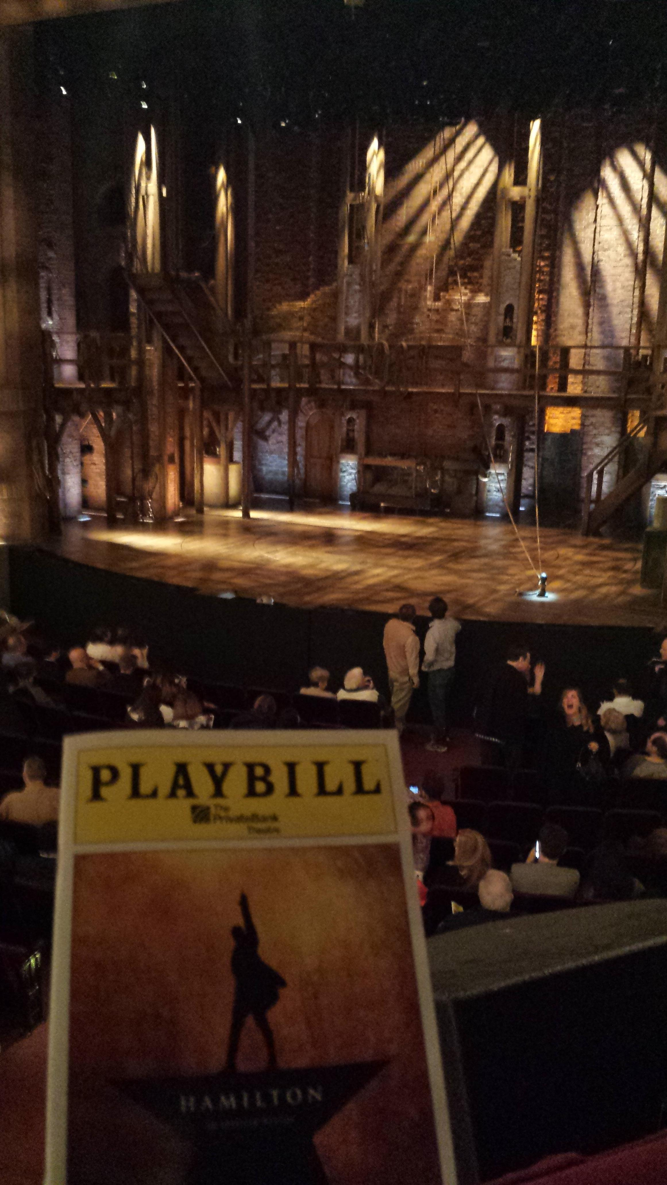CIBC Theatre Section DRESS CIRCLE R Row A Seat 2