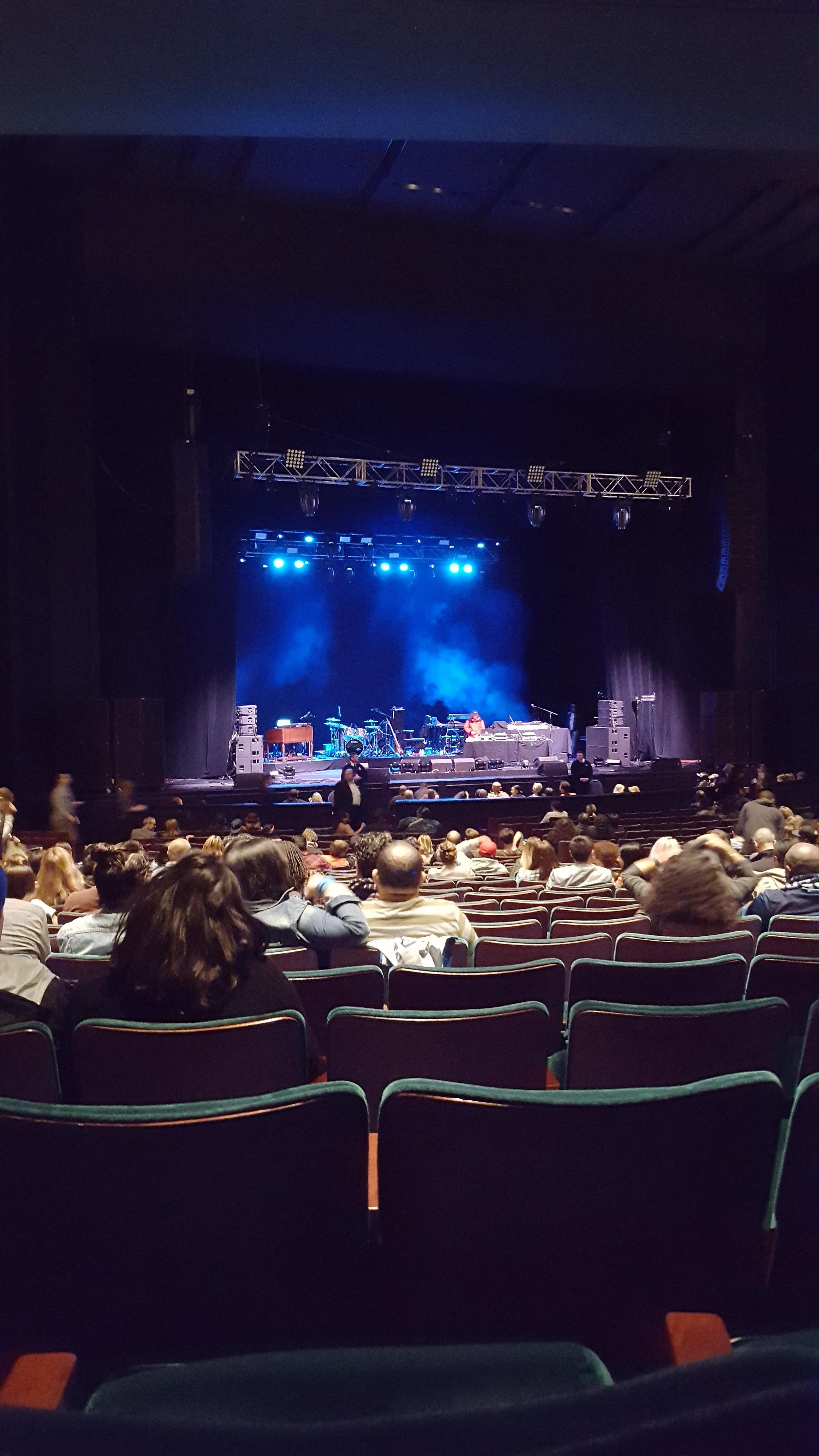 McCaw Hall Section Orchestra 3 Row Z Seat 12